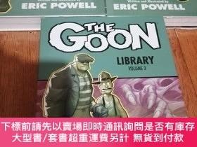 二手書博民逛書店the罕見goon library edition 1-3 英文原版精裝 第一第二本塑封Y228148 Eri