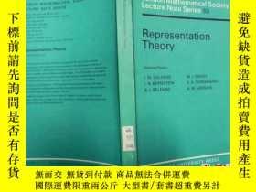 二手書博民逛書店Representation罕見Theory I.M Gelfand 關於群表示理論的論文精選Y171500