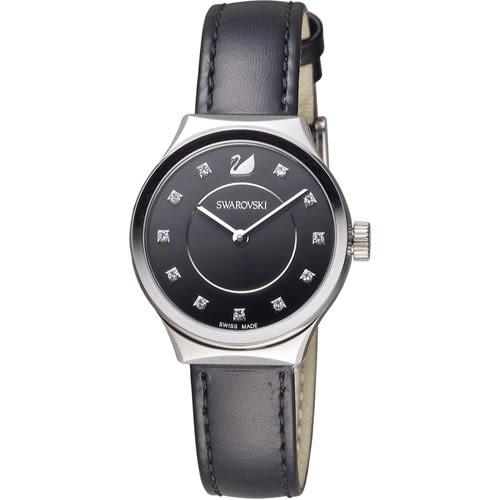 SWAROVSKI 施華洛世奇 Dreamy 簡約時尚腕錶 5199931 黑