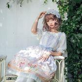 LOLITA夏季蕾絲公主裙洋裝連身裙