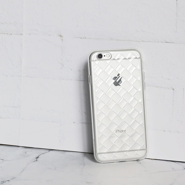 iPhone 6/6s Plus 手機殼 5.5吋【Knit 璀璨編織 - 璀璨晶透】- WaKase
