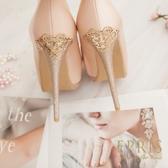 現貨 圓頭超高跟鞋推薦 皇室公主 全羊皮舒適好穿跟鞋 21-25.5 EPRIS艾佩絲-甜美粉