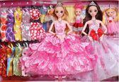 會說話換裝芭芘洋娃娃套裝大禮盒女孩公主玩具兒童別墅城堡衣服布