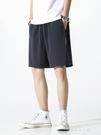 男短褲夏季外穿休閒寬鬆運動跑步速乾冰絲薄款 朵拉朵衣櫥