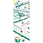【日本製】【和布華】 日本製 注染拭手巾 流水素麵圖案 SD-5021 - 和布華