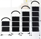家用折疊梯子加厚三四步五步人字梯室內樓梯扶梯爬梯小梯凳JX