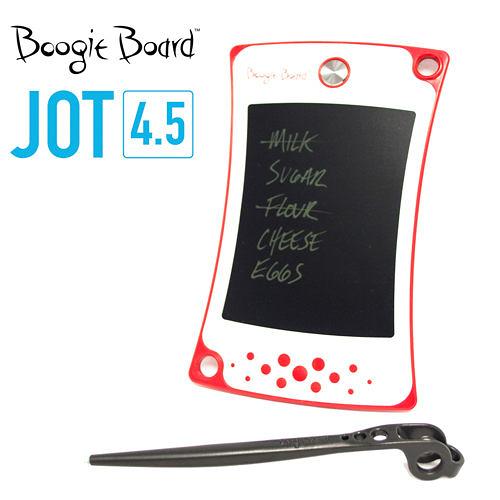 Boogie Board JOT4.5手寫板 塗鴉板 繪圖板 留言板 繪畫板-耀眼紅