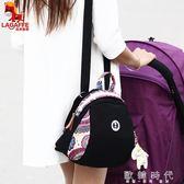 民族風刺繡女包新款女士三用外出旅行包帆布包   歐韓時代