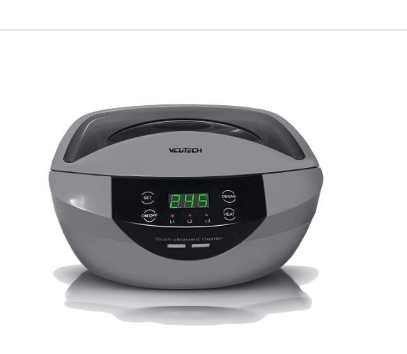 [2美國直購] 超聲波清潔器 2021 Ultrasonic Cleaner with Degas, Heating and Time Setting B08K1M9VKT