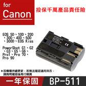 攝彩@Canon BP-511 副廠電池 BP511 佳能 原廠充電器可充 5D 20D 30D 50D 全新
