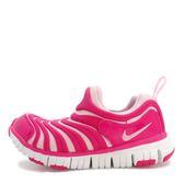 Nike Dynamo Free PS [343738-626] 中童鞋 慢跑 運動 休閒 舒適 透氣 毛毛蟲 桃紅