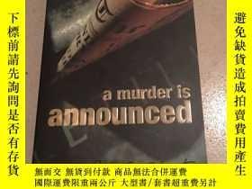 二手書博民逛書店Agatha罕見Christie:A Murder is Ann
