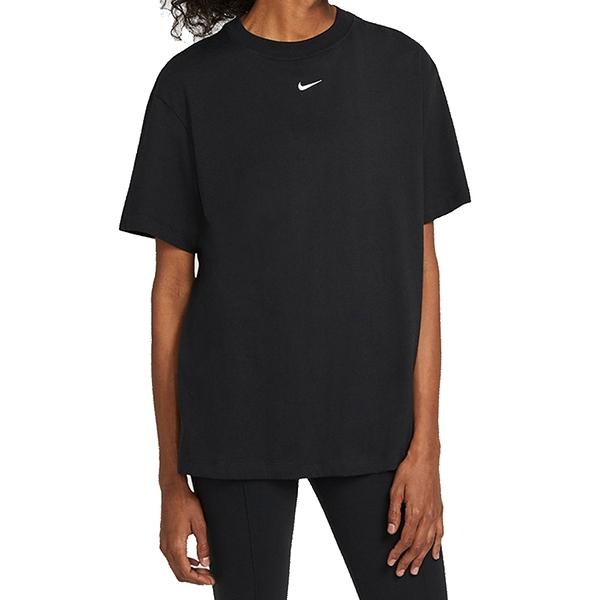 NIKE NSW ESSNTL SS TOP BF 黑 女 圓領 刺繡 LOGO 短袖 T恤 DH4256010