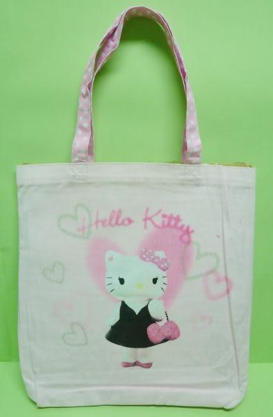 【震撼精品百貨】Hello Kitty 凱蒂貓~手提袋肩背包『粉底淑女』