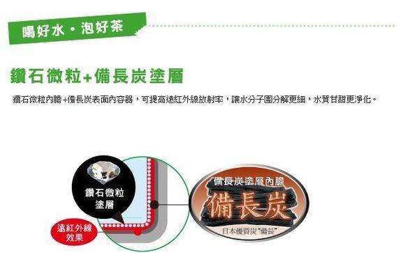『全新Eco沸騰感知』 ◢國際牌3L真空斷熱熱水瓶NC-SU303P