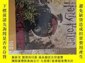 二手書博民逛書店哈利波特名信片收藏版harry罕見potter postcard