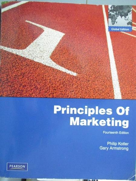 【書寶二手書T8/大學商學_XBE】Principles of Marketing_Armstrong, Kotler