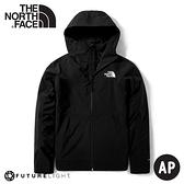 【The North Face 男 ARQUE AT FL VENTRIX 透氣防潑水保暖外套《黑》】4NA2/衝鋒衣/防水外套