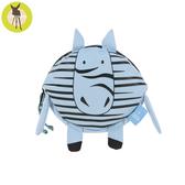 【新品上市送收納盒】德國Lassig-幼童迷你動物造型隨身包-斑馬