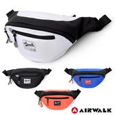 美國AIRWALK - 休閒實用多夾層收納腰包-共四色