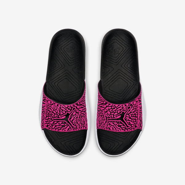 Nike Jordan Hydro 7 V2 [BQ6290-061] 男鞋 運動 休閒 涼鞋 拖鞋 魔鬼氈 喬丹 黑粉