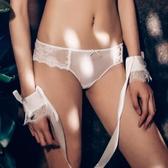 BOTHYOUNG夏季性感透明火辣情趣內褲女低腰蕾絲三角內褲情趣衣服