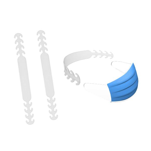 口罩延長扣 口罩掛勾 口罩減壓帶 鬆緊可調 口罩調整扣 口罩防勒 舒適貼合臉部(V50-2583)