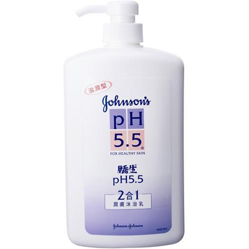 嬌生PH5.5沐浴乳-二合一1000ml【愛買】