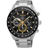 SEIKO 精工錶 Criteria 太陽能 藍寶石水晶鏡面 計時碼錶 SSC581P1 熱賣中!