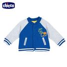 chicco-工程車-配色棒球外套
