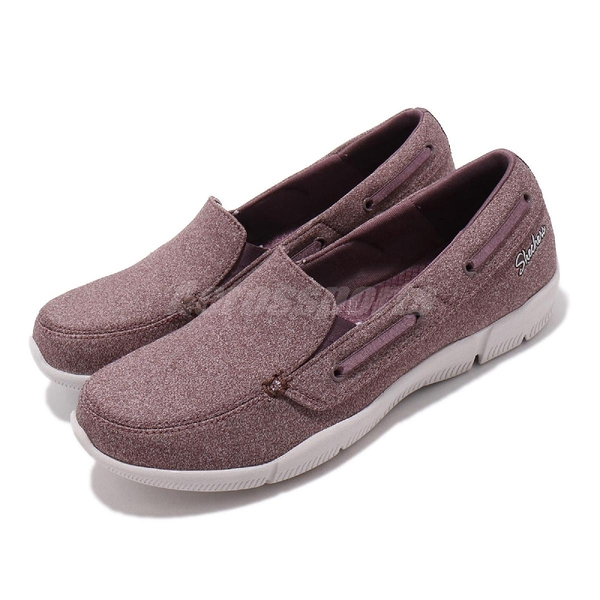 Skechers 休閒鞋 Be-Lux-Easily Done 紫 米色 女鞋 健走鞋 【PUMP306】 23170MVE