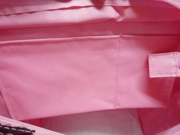 【震撼精品百貨】Hello Kitty 凱蒂貓~手提袋『側坐英文字母』