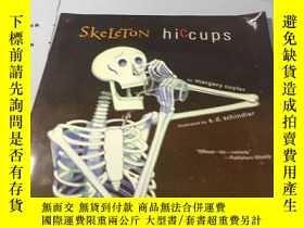 二手書博民逛書店英文原版漫畫:Skeleton罕見Hiccups Cuyler,