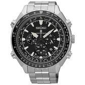 SEIKO 精工錶 Prospex 低調時尚 電波修正 太陽能計時碼錶 SSG001P1 熱賣中!