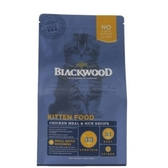 【BLACKWOOD】柏萊富特調幼貓成長配方雞肉+糙米-4磅
