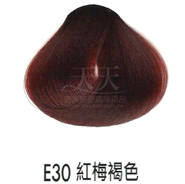 【專業推薦】耐婷 亮彩染髮劑 E30-紅梅褐色 60g [73046]