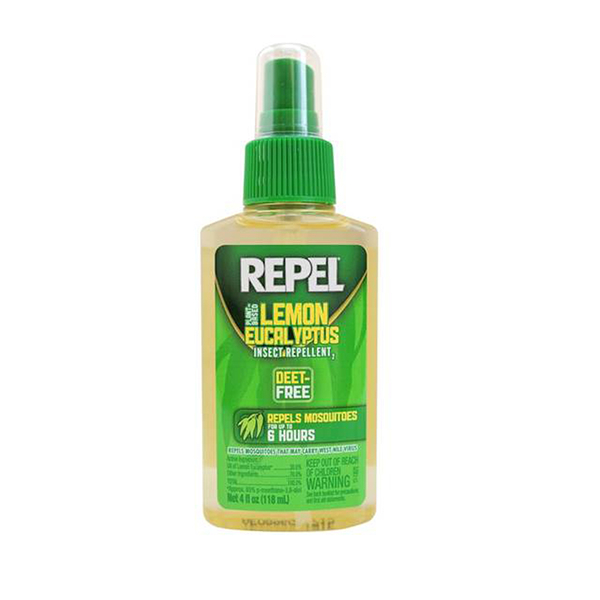 【REPEL】天然檸檬尤加利精油驅蟲液 (118ml)