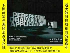 二手書博民逛書店Perspective罕見Drawing And Applications (2nd Edition)-透視圖與應