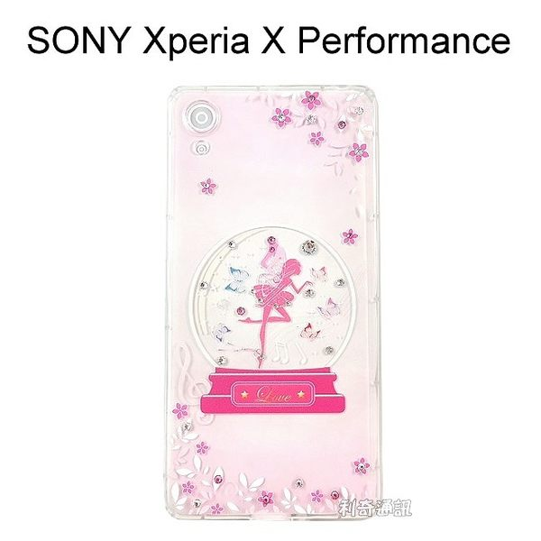 施華洛世奇空壓氣墊軟殼 [水晶天使] SONY Xperia XP F8132 (5吋)