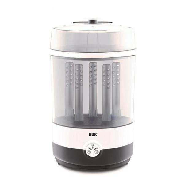 【德國NUK】二合一蒸氣烘乾消毒鍋(加贈奶瓶夾+80抽濕紙巾)