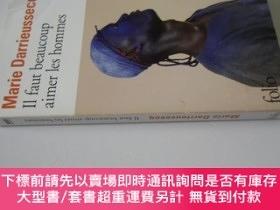 二手書博民逛書店法文原版罕見《我們應該愛很多男人》 Il Faut Beaucoup Aimer Les HommesY721