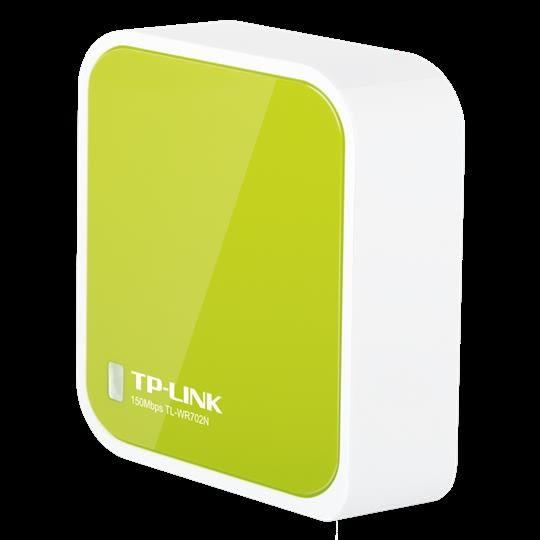 TP-LINK TL-WR702N便攜式迷你無線路由器家用wifi增強器中繼放大第七公社