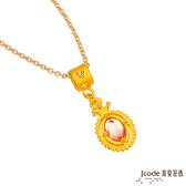 J'code真愛密碼-小公主 黃金項鍊