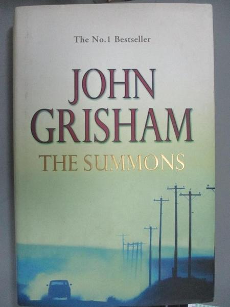 【書寶二手書T5/原文小說_WFH】The Summons_John Grisham