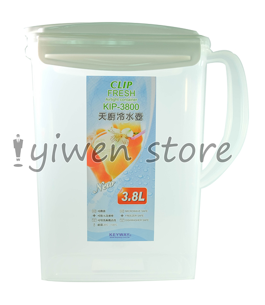 《一文百貨》KEYWAY 天廚冷水壺/3.8L/KIP-3800