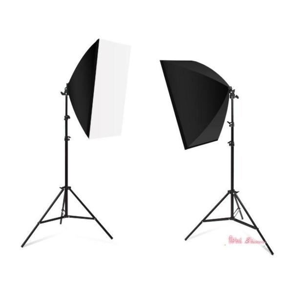 攝影棚 105瓦攝影燈套裝LED專業柔光箱簡易微型小型攝影棚大型產品拍攝道具T