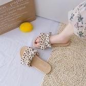 拖鞋女 網紅夏天涼鞋可濕水涼拖鞋女外穿時尚2020夏季新款ins潮外出百搭 交換禮物