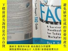 二手書博民逛書店The罕見smart manager s FAQ GuideY2