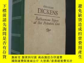 二手書博民逛書店1949年版The罕見posthumous papers of
