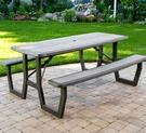 [COSCO代購] W1902245 Lifetime 6呎 野餐桌
